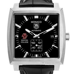 Boston College TAG Heuer Watch - Mens Monaco Watch