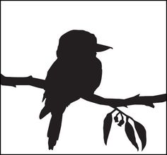 Trendy black and white bird tattoo negative space 41 Ideas Bird Silhouette Tattoos, Tree Silhouette, Tree Branch Tattoo, Tattoo Bird, White Bird Tattoos, Animal Stencil, Black And White Birds, Australian Animals, Bird Illustration