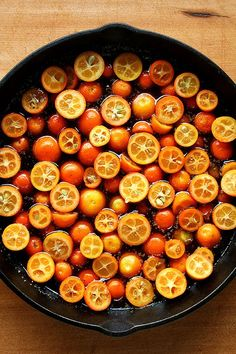 Kumquats! This recipe for an upside-down cake looks scrumptious!!