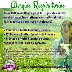 Mezcla para Alergias Respiratorias de Aceites Esenciales doTERRA…