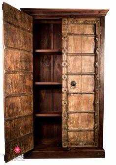 old doors wardrobe
