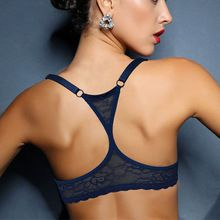 Hot Top Soutien-Gorge Dentelle Bralette Y-ligne BH Armature Sous-Vêtements Sexy Lingerie Femmes Fille Cadeau plus la Taille 70 75 80 85 90 95 100 A B C D DD(China)