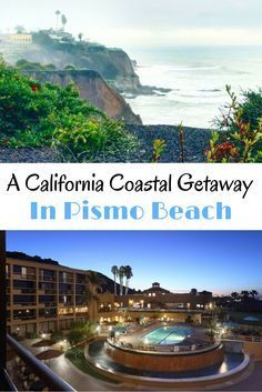 Where to stay on the California Central Coast in Pismo Beach. The perfect coastal getaway at the Cliffs Resort.
