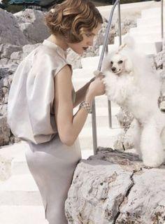 Natalia Vodianova by Mario Testino for Vogue US July 2007