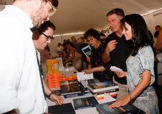 Alec Baldwin Hilaria Baldwin Photos: East Hampton Library's Authors Night