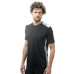 Camiseta Dry Aventure Referência: 6789 Disponível nas Cores: Cinza Claro e Preto