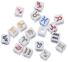 Acrylic Plastic, Acrylic Beads, Roman Alphabet, Acrylic Letters, Letter Beads, Wholesale Jewelry, Cube, Charmed, Lettering