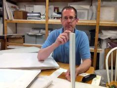 How to Stretch Watercolor Paper  Part 1 Steve Kozar
