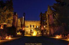 CASTELNUOVO GRILLI - Castello Castelnuovo Grilli, Asciano (Siena) Toscana   Matrimoni e ricevimenti