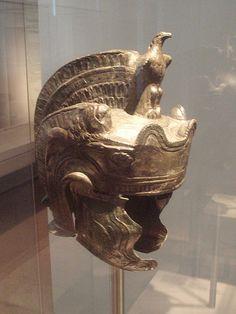 File:Roman parade helmet, 2nd century.AD Germanisches  Nationalmuseum in Nuremberg