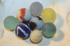 AWESOME BEACH GLASS Marbles A great Start by BEACHGLASSSWEPTASHOR, $50.00