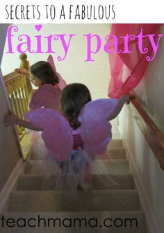 Ready to put on a birthdya party for your little girl? Here are the secrets I have found to a fabulous, at-home fairy princess spa party. I did this with my daughter for her birthday and the fairy birthday party was a blast!  #teachmama #fairy #birthday #birthdayparty #girlbirthday #party #hostingaparty #birthdayfun #fairies