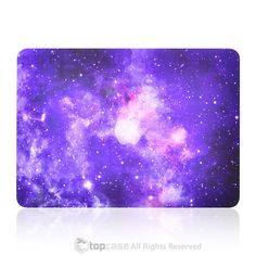 """Purple Galaxy Graphic Rubberized Hard Case for MacBook Pro 13"""" with Retina Display Model A1425 / A1502"""
