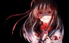 p/s: I don't own the copyright Anime Bad, Dark Anime Girl, Pretty Anime Girl, Sad Anime, Anime Art Girl, Kawaii Anime, Manga Anime, Anime Girl Crying, Animes Yandere