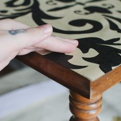 How to Use Wallpaper to Decorate Furniture