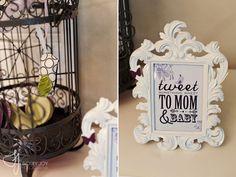 tweet something sweet. bird wording.