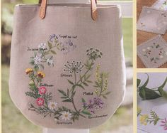33 Embroidery Patterns - Flower embroidery - embroidery pattern - botanical - japanese embroidery book - ebook - PDF - instant download   The listing is for an eBook (electronic book)    IN CHINESE LANGUAGE   Beautiful and gentle botanical embroidery Japanese craft ebook (Chinese edition) by Sadako Totsuka. 33 flowers embroidery patterns for your embroidery garden. Photocopy of real book.  Pages: 65 File Type: PDF Format File size: 18,4 MB Language: Chinese (not need to understand…