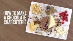 Every holiday party you attend this year will have a cheese plate. But we promise that your party will be the only one with a dessert charcuterie board loaded with popcorn, cookies, fruit, nougat and two types of chocolate. Watch and learn how easy it is to stand out from the crowd.