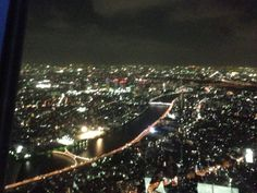 The night view seen from SKYTREE