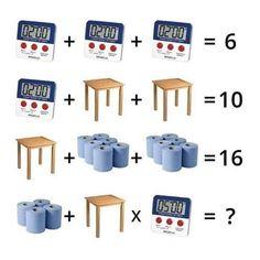 Twitter Math Logic Puzzles, Math Quizzes, 3rd Grade Math Worksheets, Brain Teasers For Adults, Brain Teasers Riddles, Tricky Riddles, Math Genius, Math Talk, Math Challenge