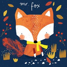 Alex Willmore - alternative version of autumn fox                              …
