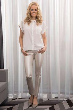 Biała koszula damska SENSO