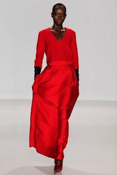 Marissa Webb Fall 2014 Ready-to-Wear - all in red