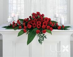 Large Altar Flower Arrangements Red Roses, Find and save Top 10 Altar Flower Arrangements Ideas for Weddings. See more about Church Flowers, Church Wedding Decorations and Church beautification how to.