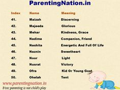Muslim Baby Girl Names With Meaning
