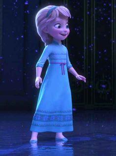 malá Elsa