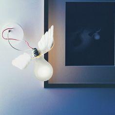 Ingo Maurer Lucellino, una lampada di design davvero particolare e unica nel suo genere :)