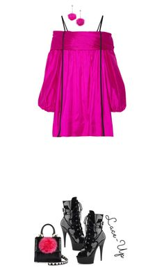 """""""Lace It Up'"""" by dianefantasy ❤ liked on Polyvore featuring Les Petits Joueurs, Betsey Johnson, Pleaser, Isa Arfen, laceup, polyvorecommunity and polyvoreeditorial"""