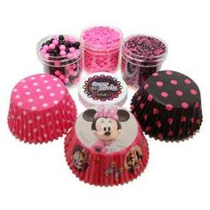 Minnie Mouse Cupcake Decoration Ideas