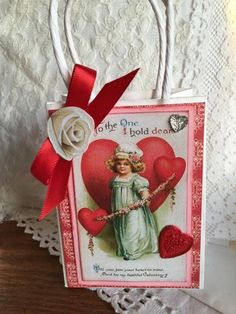 Valentine Favors  Mini Bags Decor