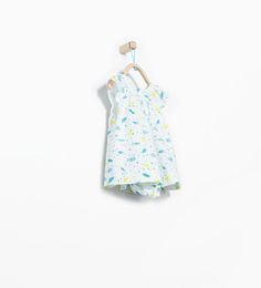 Image 1 of Fish print dress with briefs from Zara
