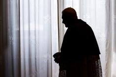 June 8, 2012. Pope Benedict XVI looks on following a meeting with the Sri Lankan President at the Vatican.