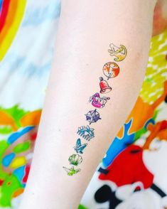 Looking for Disney tattoos and don't know where to start? This list has some of the best designs for fans who are looking to express their love and passion for Disney. # disney tattoos Disney Tattoos Ideas For Women - Inspiration For Your Next Design Disney Sleeve Tattoos, Disney Tattoos Small, Tattoos For Women Small, Small Tattoos, Disney Inspired Tattoos, Cute Tattoos, Beautiful Tattoos, New Tattoos, Body Art Tattoos