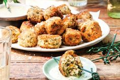 Colcannon is a traditional Irish dish, classically served with Bacon. Katie Quinn Davies turns the holy trinity of potato, cabbage and bacon into bite-sized canapes.