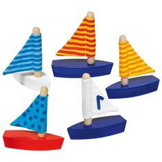 Set sail with cute and fun mini sailing boats from GOKI. Floating Boat, Outdoor Toys For Kids, Backyard Play, Buy Toys, Baby Shower, Educational Toys For Kids, Christmas Gifts For Kids, Toy Store, Cool Toys