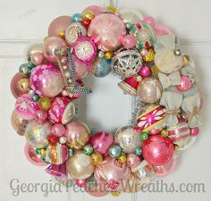 Totally in love with #georgiapeachez wreaths