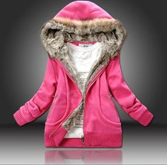 Try this plus size wool hooded cotton trend coat for a vigor of youth look. It¡¯s Fleece Lining in can keep you from wind and coldness. Color: Yellow, Rosy, BlueWeight: 1KG Style: Solid Color Fabric: