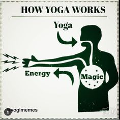 #Yoga #Magic = #Energy #yogamagic