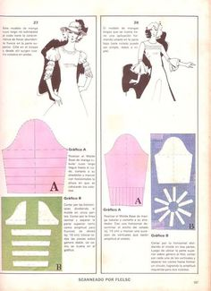 mangas Clothing Patterns, Sewing Patterns, Sewing Sleeves, Pattern Draping, Sewing School, Modelista, Pocket Pattern, Pattern Cutting, Sewing Techniques