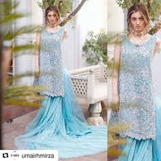 #Repost @umairhmirza with @repostapp ・・・ BTS from @Iqrafchaudhryofficial new Bridal Collection 'Eva' featuring model Neha Rajput.