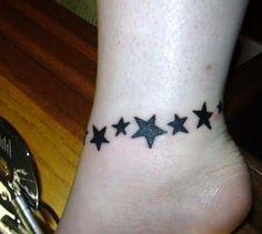 Dövme Tattoo: yıldız dövmeleri