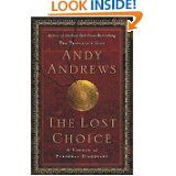 Love Andy Andrews and every one of his many books.  Would definitely pay to hear him speak.  As a teenager, he lived under a pier on the Gulf Coast, basically homeless.  Today, successful author and speaker.  His books share his keys to successful living.