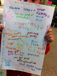 Simply Second Grade: Year End Affirmations and MONSTERS!