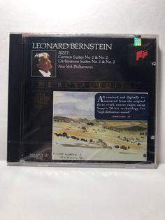Leonard Bernstein Bizet:Carmen, L'Arlesienne Suites No.s 1 & 2 The Royal Edition  | eBay