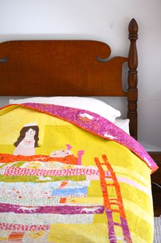 Princess and The Pea Quilt Kit, Now Available on Heather Ross' website!