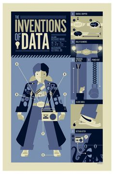 Goonies - The Inventions of Data Poster. By strongstuff.
